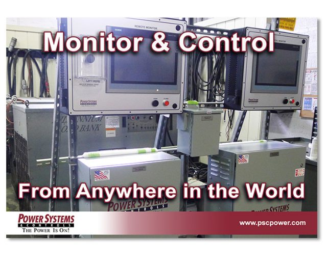 Remote Monitor & Controls