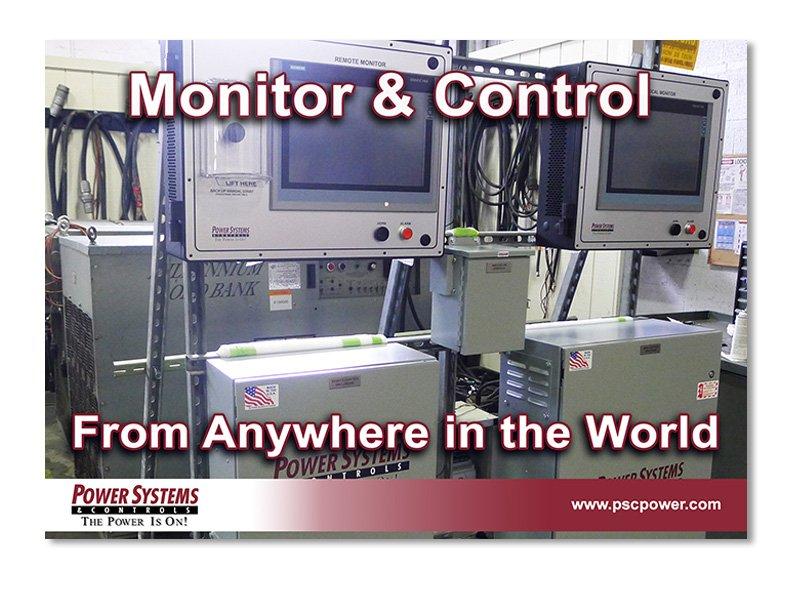 Remote Monitor & Controls