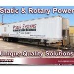 Static & Rotary Power